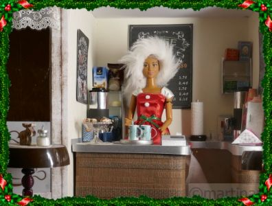Die Kaffeebude hat geöffnet