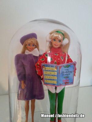 Barbie unter der Glocke Winterstimmung