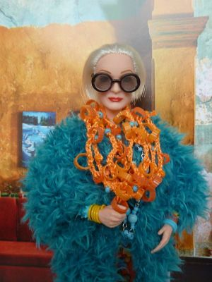 Iris Apfel OOAK Barbie by martinaa 3