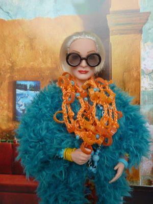 Iris Apfel OOAK Barbie by martinaa 3