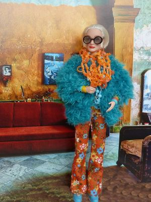 Iris Apfel OOAK Barbie by martinaa 4