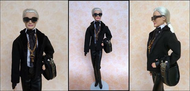 Karla (Lagerfeld) OOAK Barbie by martinaa 13
