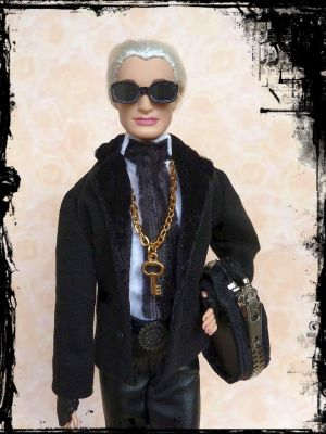 Karla (Lagerfeld) OOAK Barbie by martinaa 8