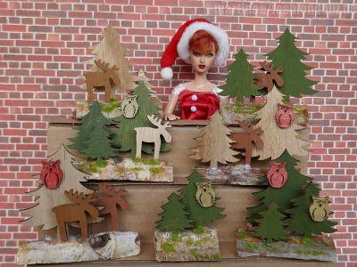 Luzys Weihnachtsgestecke 1