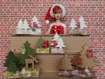 Luzys Weihnachtsgestecke 3