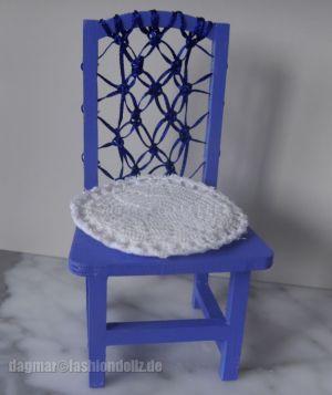 Modell Blue Makramee Von Dagmar (FDF)