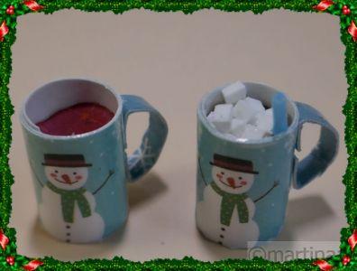 Winterliche Tassen