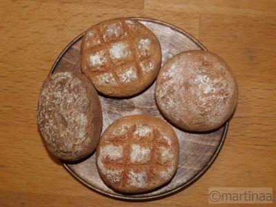 Salzteig Brot frisch aus der Backstube