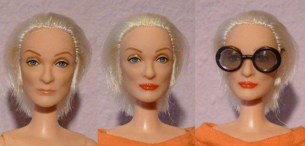 Iris Apfel OOAK Barbie by martinaa 2