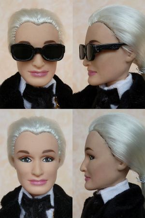 Karla (Lagerfeld) OOAK Barbie by martinaa 15