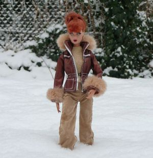 Luzy im Schnee by martinaa 2