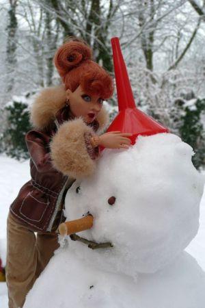 Luzy im Schnee by martinaa 3
