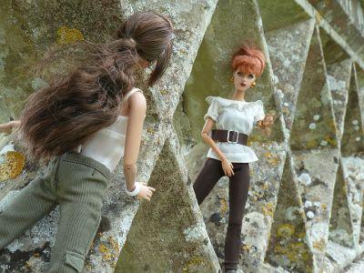 Luzy und Katniss 1