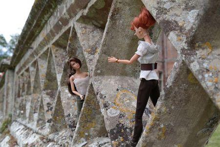 Luzy und Katniss 2