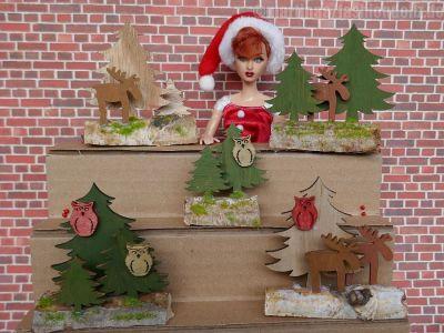 Luzys Weihnachtsgestecke 2