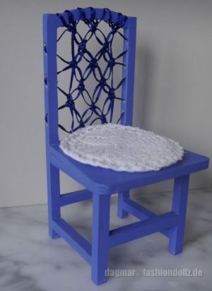 Modell Blue Makramee Von Dagmar (FDF) 2