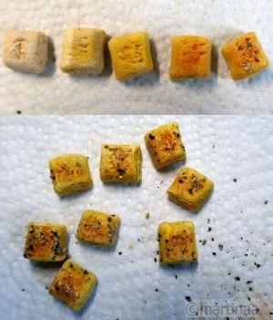 Salzteig Pfeffer-Salz Brötchen