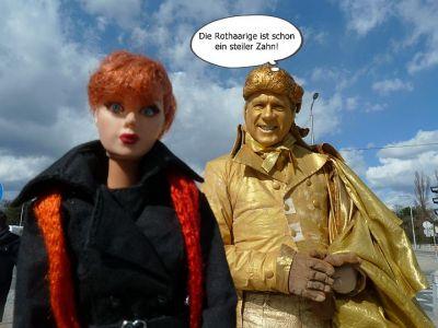 (2) Luzy und der goldige Mann