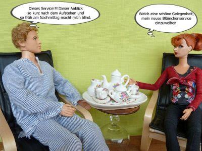 (5) Kaffeetrinken mit dem netten Nachbarn